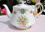 Royal Stafford 'True Love' Large Bone China Teapot