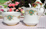 Royal Stafford 'True Love' Bone China Cream Jug and Sugar Bowl