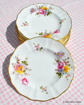"Royal Crown Derby Posies New China 6"" Tea or Side Plate"
