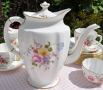Royal Crown Derby 'Derby Posies' New Large Teapot or Coffee Pot