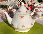 Richmond 'Rose Time' Large Vintage China Teapot