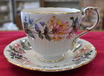 Paragon 'Country Lane' Vintage China Breakfast Teacup and Saucer