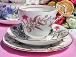 Paragon Fancy Free Fine Bone China Teacup Trio