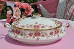 Queen's Rosina China Vintage Covered Vegetable Dish or Tureen