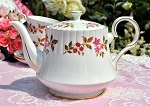 Royal Stafford Fragrance Vintage Pink Floral Teapot