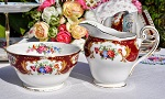 Royal Standard Lady Fayre Vintage Sugar Bowl and Cream Jug