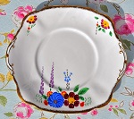 Art Deco Hand Painted Chapmans of Longton Cake Plate - SOLD OUT