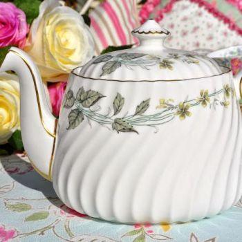 Minton Greenwich S-705 Vintage Bone China 2 Pint Teapot