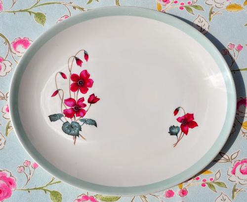 Burleigh Ware Edinburgh Pattern 1960's Retro Serving Platter