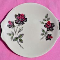 Royal Albert Masquerade Bone China Vintage 1950s Cake Plate
