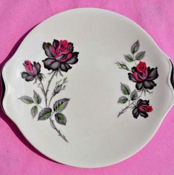 Royal Albert Masquerade Bone China Vintage 1950s Cake Plate