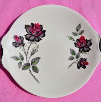 Royal Albert Masquerade Cake Plate c.1950s