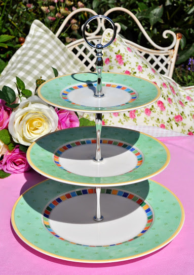 Villeroy & Boch Plates Twist Alea Verde 3 Tier Cake Stand