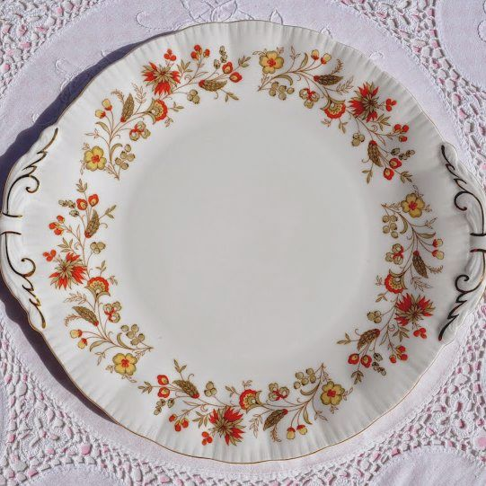 Paragon Seville Vintage Fine Bone China Cake or Bread Plate
