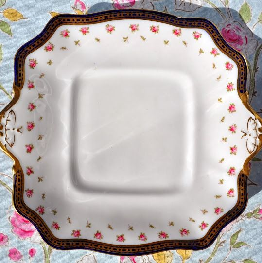 Adderley's Antique Clifford Pattern China Cake or Bread and Butter Plate c.