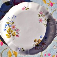 Richmond Wild Anemone Cake Plate