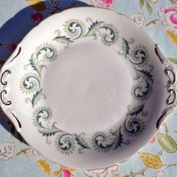 Royal Standard Garland Vintage Bone China Cake Plate