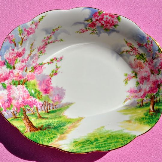 Royal Albert Blossom Time Vintage Bone China Serving Dish