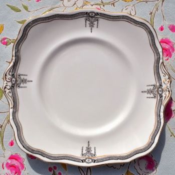 Antique Paragon Star China Cake Plate c.1914
