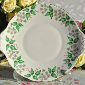 Royal Albert Travellers Joy Cake Plate c.1950's