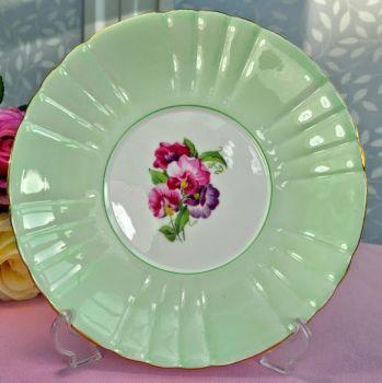 Royal Grafton Sweet Pea Vintage China Cake Plate c.1950's