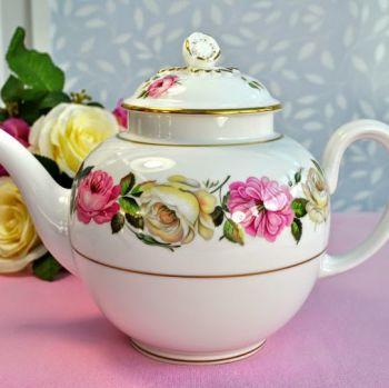 Royal Worcester Royal Garden Elgar Pattern Vintage Bone China Large Teapot