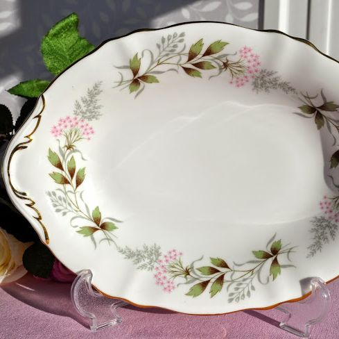 Paragon Glendale Bone China Large Biscuit Tray or Bonbon Dish c.1957+