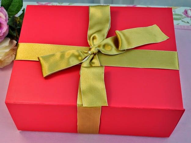 trio pink giftbox