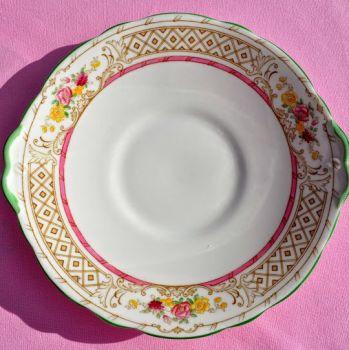 Adderleys Chiltern A1331 Bone China Vintage Cake Plate