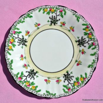 Royal Doulton Art Deco Pattern No.H.3758 Hand Painted Cake Plate 1920s