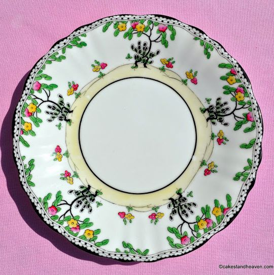 Royal Doulton Art Deco Hand Painted Cake Plate c.1929