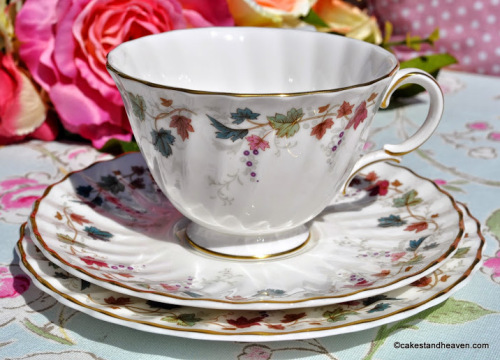 Royal Doulton Canterbury Vintage Teacup, Saucer, Tea Plate