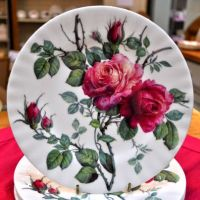 Roy Kirkham English Rose New Fine China 20cm Plate