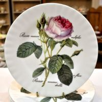 Roy Kirkham Redoute Rose New Fine China 20cm Plate