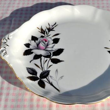 Royal Albert Queen's Messenger Vintage China Cake Plate c.1960's