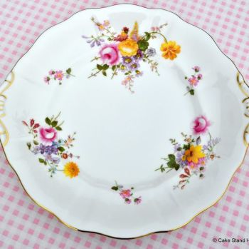 Royal Crown Derby Posies New China Cake or Bread and Butter Plate c.2006