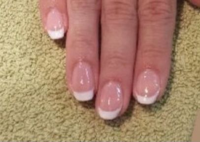 French Nail Overlay  Acrylic, Gel