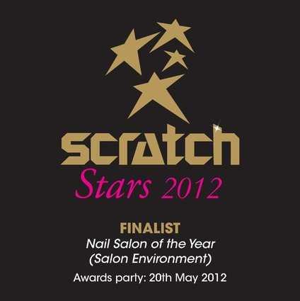 scratch stars nail aslon