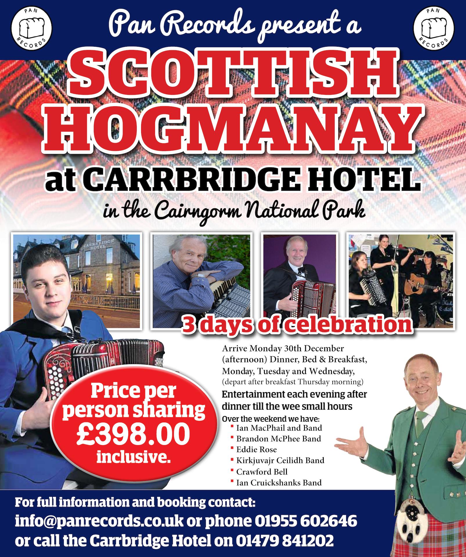 Carrbridge Hogmanay Leaflet 2019