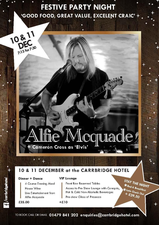 Alfie Mcquade A4 Poster