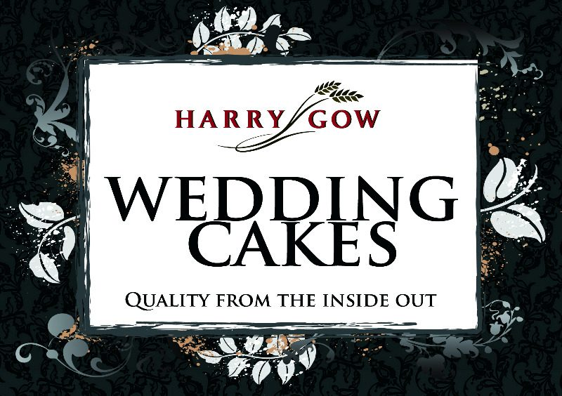 harry gow wedding cakes