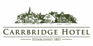 Carrbridge Hotel, site logo.