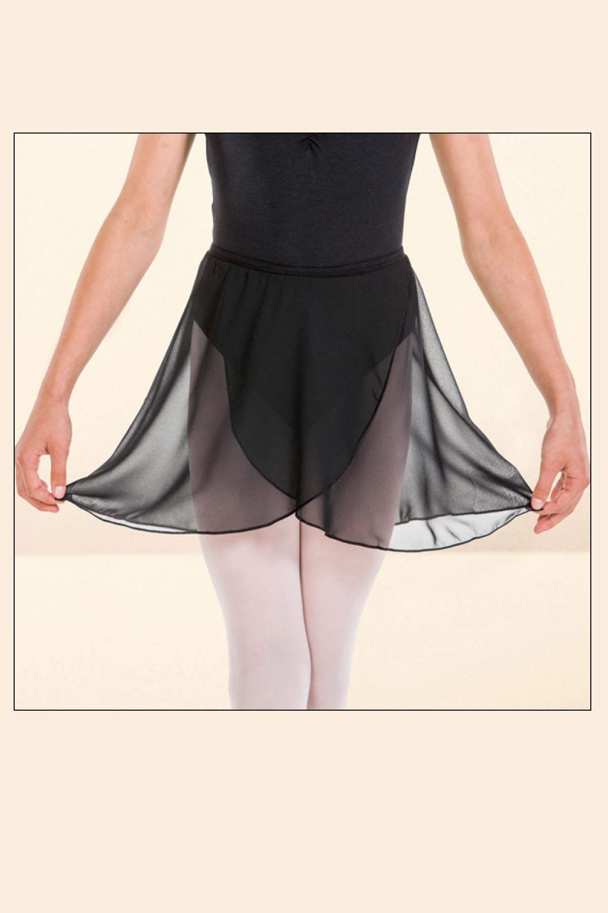 Uniform Black Skirt (IDS Black Voile Skirt)