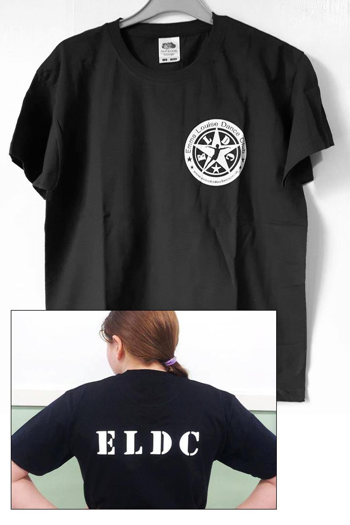 Uniform ELDC Black T-Shirt