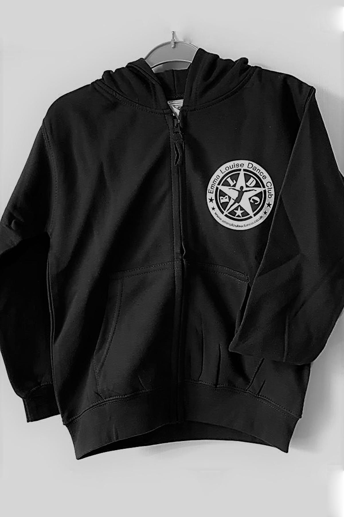 Uniform ELDC Black Zip Hoodie