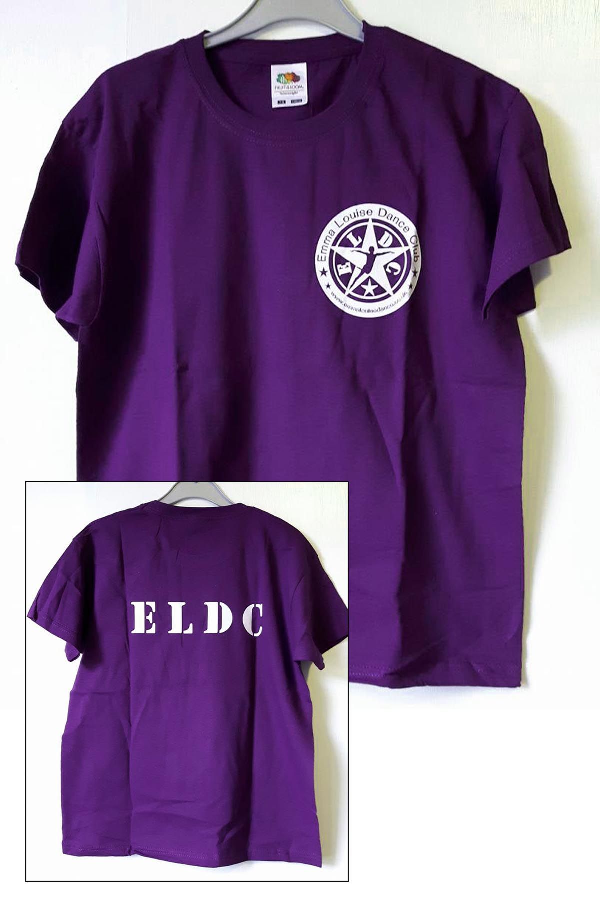 Uniform ELDC Purple T-Shirt