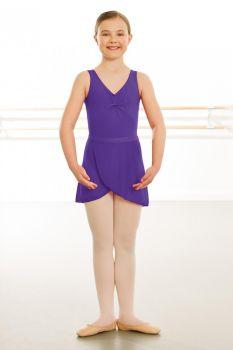Purple Wrapover Skirt