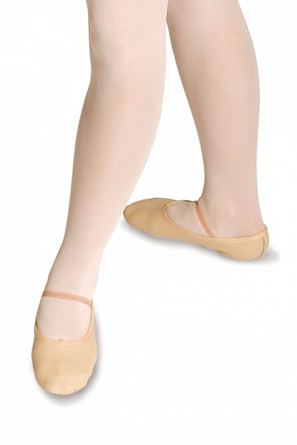 Wide Fit Full Sole Ballet Shoe (Childs 9 - Adult 5.5)