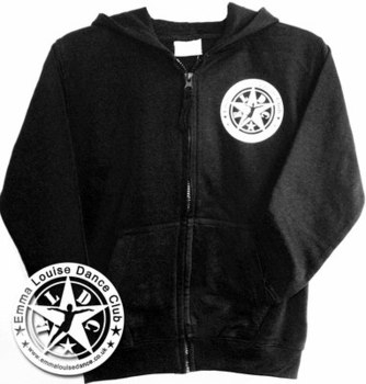 ELDC Teen/Adult Zip Hoodie Black