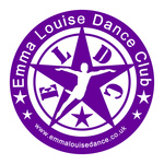 Emma Louise Dance Club, site logo.